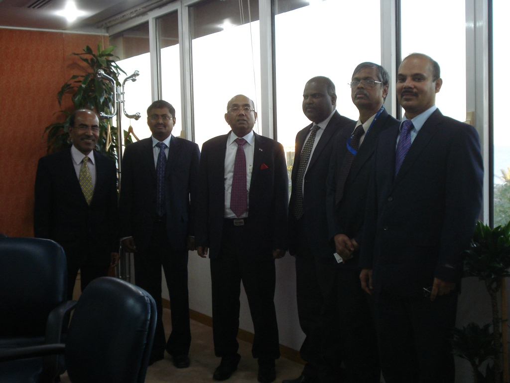 1 - TEF2015 executive committee met Ambassador