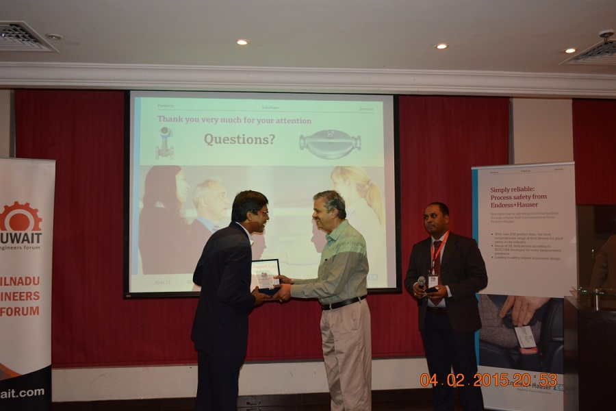 """19 - 2nd Technical Seminar - """"Achieving Precision, Performance & Reliability in Hydrocarbon Process Measurements"""""""