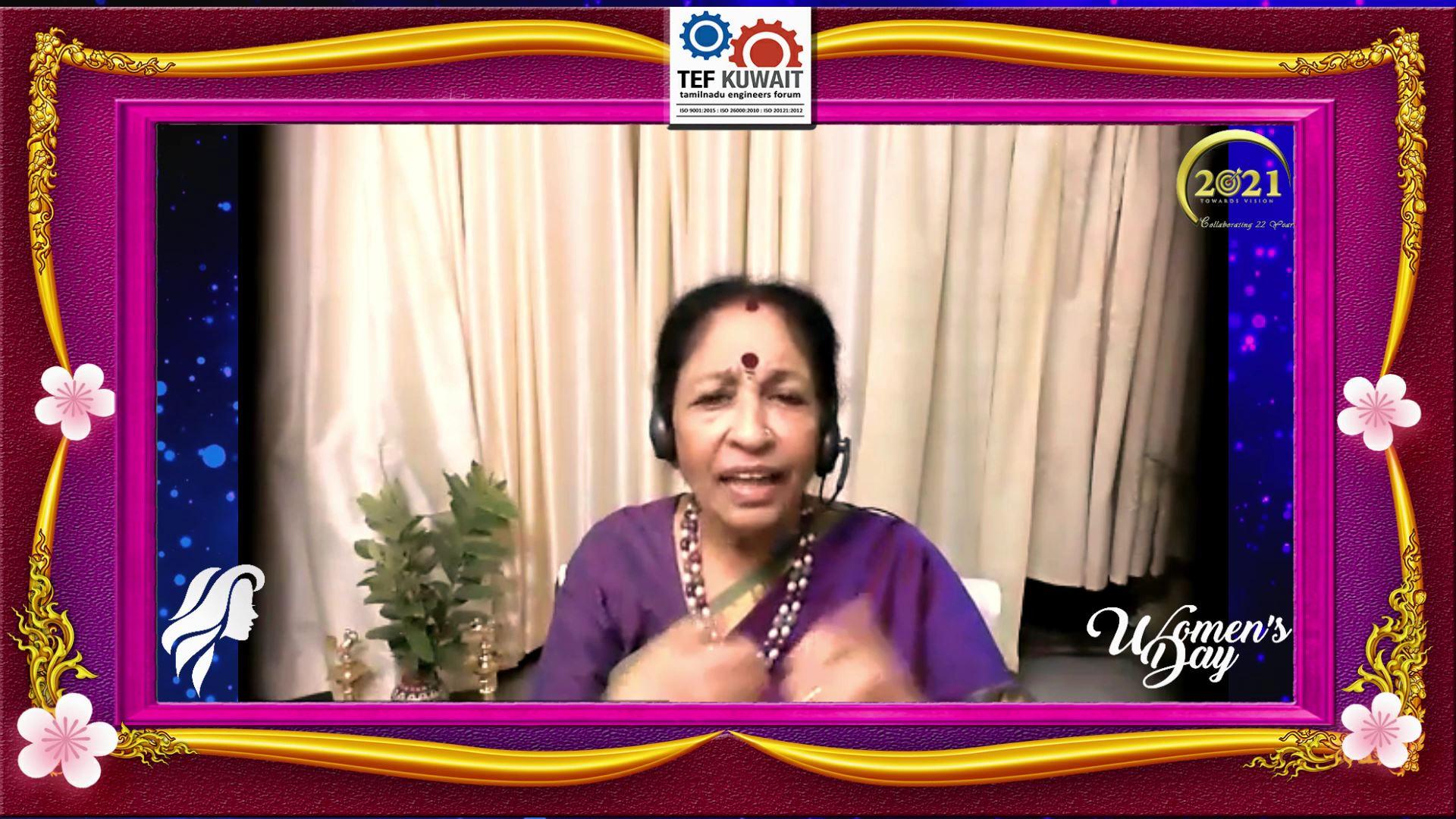 "Tamilnadu Engineers Forum Hosts ""International Women"