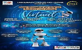 Demo Workshop for Kids on Robotics and coding